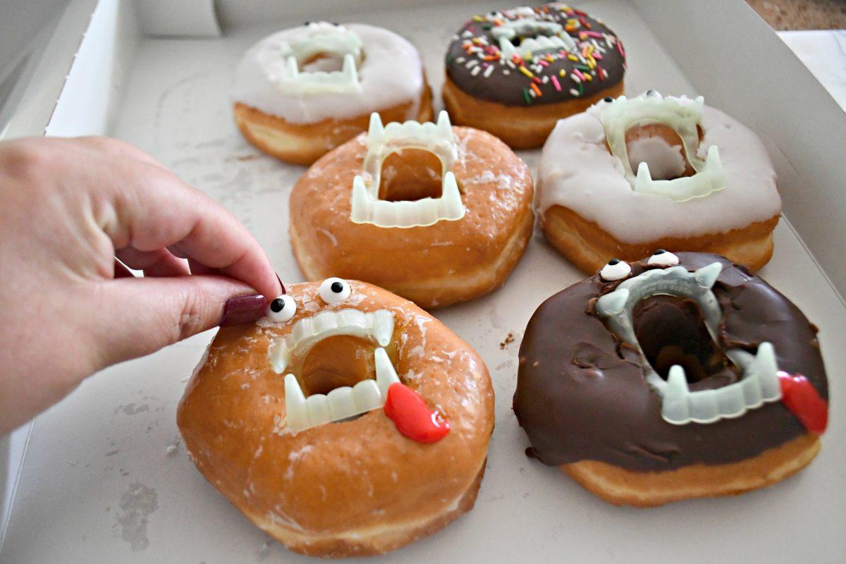making vampire donuts