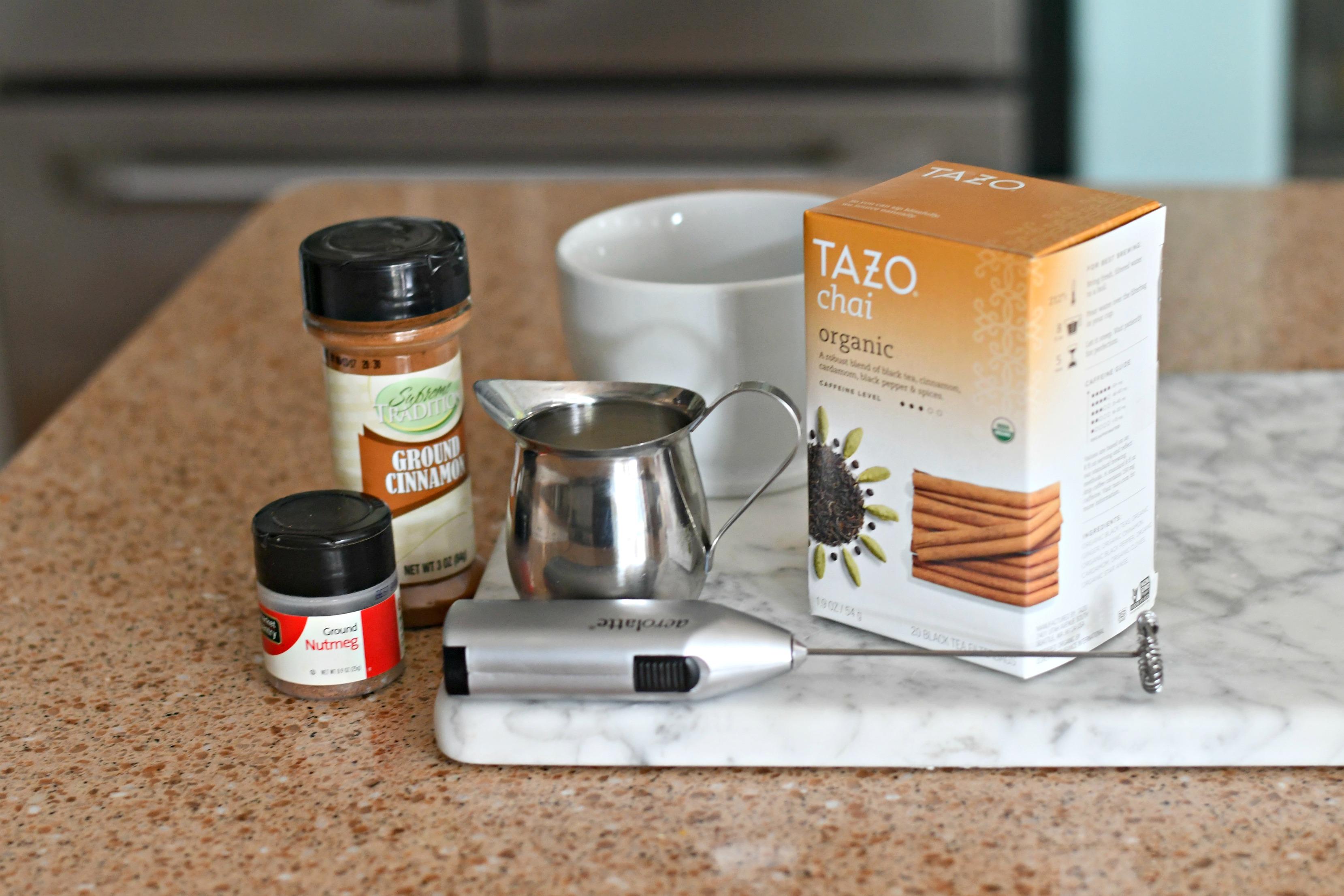 Te chai latte receta starbucks