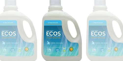 Sam's Club: ECOS 170oz Laundry Detergent Only $7.94 (Regularly $15)