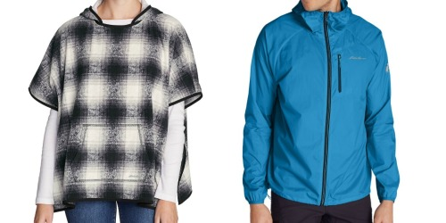 Eddie Bauer Women's Poncho Only $10 (Regularly $60) + More
