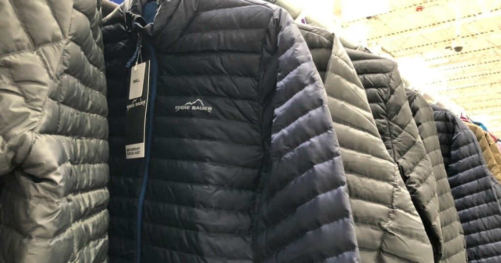cab6b76b3a33 Over 50% Off Eddie Bauer Down Jackets   Oversized Down Throws - Hip2Save