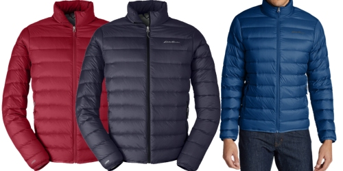 Eddie Bauer Men's & Women's Down Jackets Only $44.55 (Regularly $99)