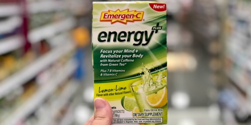 Up to 75% Off Emergen-C Products at Target