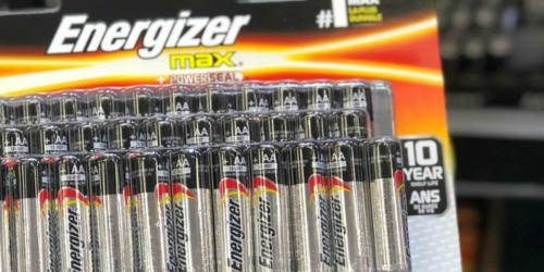 Energizer AA or AAA Batteries 24-Pack as Low as $7.54 Each After Lowe's Gift Card