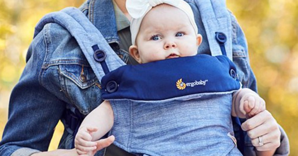 baby in ergobaby carrier