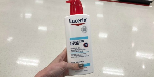 Eucerin Advanced Repair Lotion 16.9oz Bottles Just $6.29 Each Shipped on Amazon (Regularly $10)