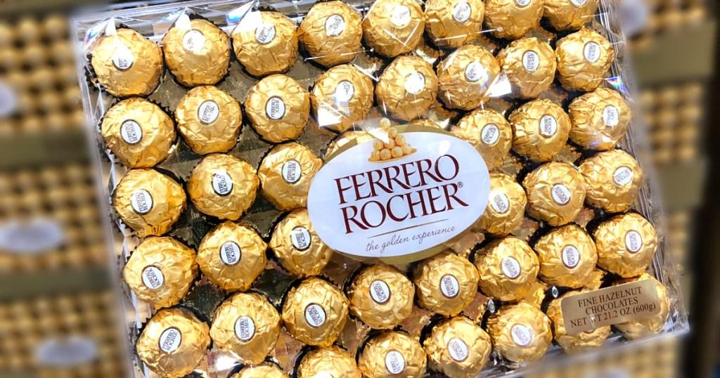 Ferrero Rocher candies at Costco