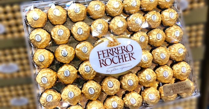Ferrero Rocher candies at Costco