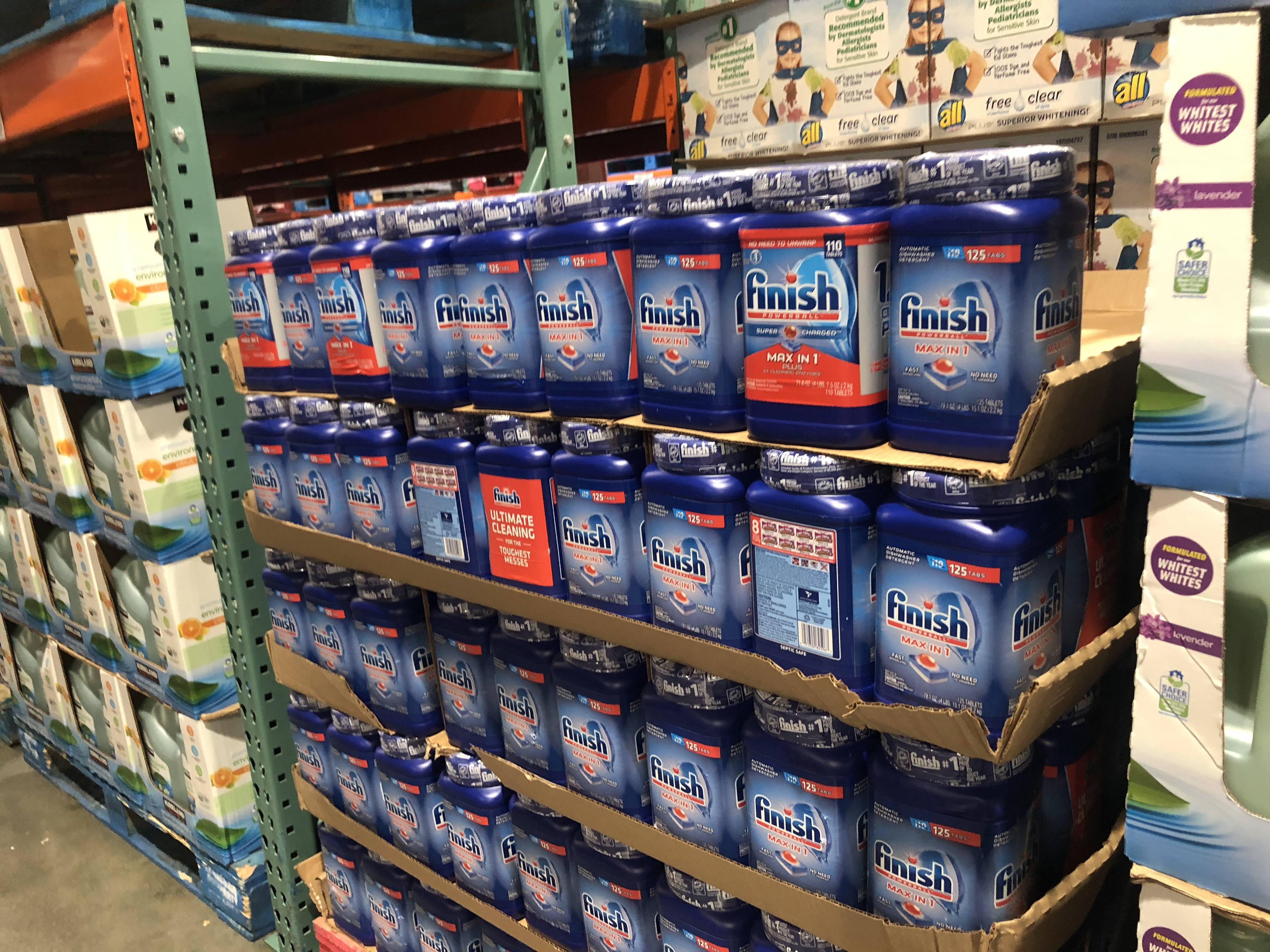 Costco deals October 2018 – Finish diswasher tabs at Costco
