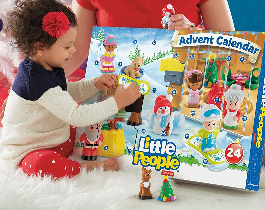 best 2018 advent calendars for kids and adults – Fisher-Price Advent Calendar