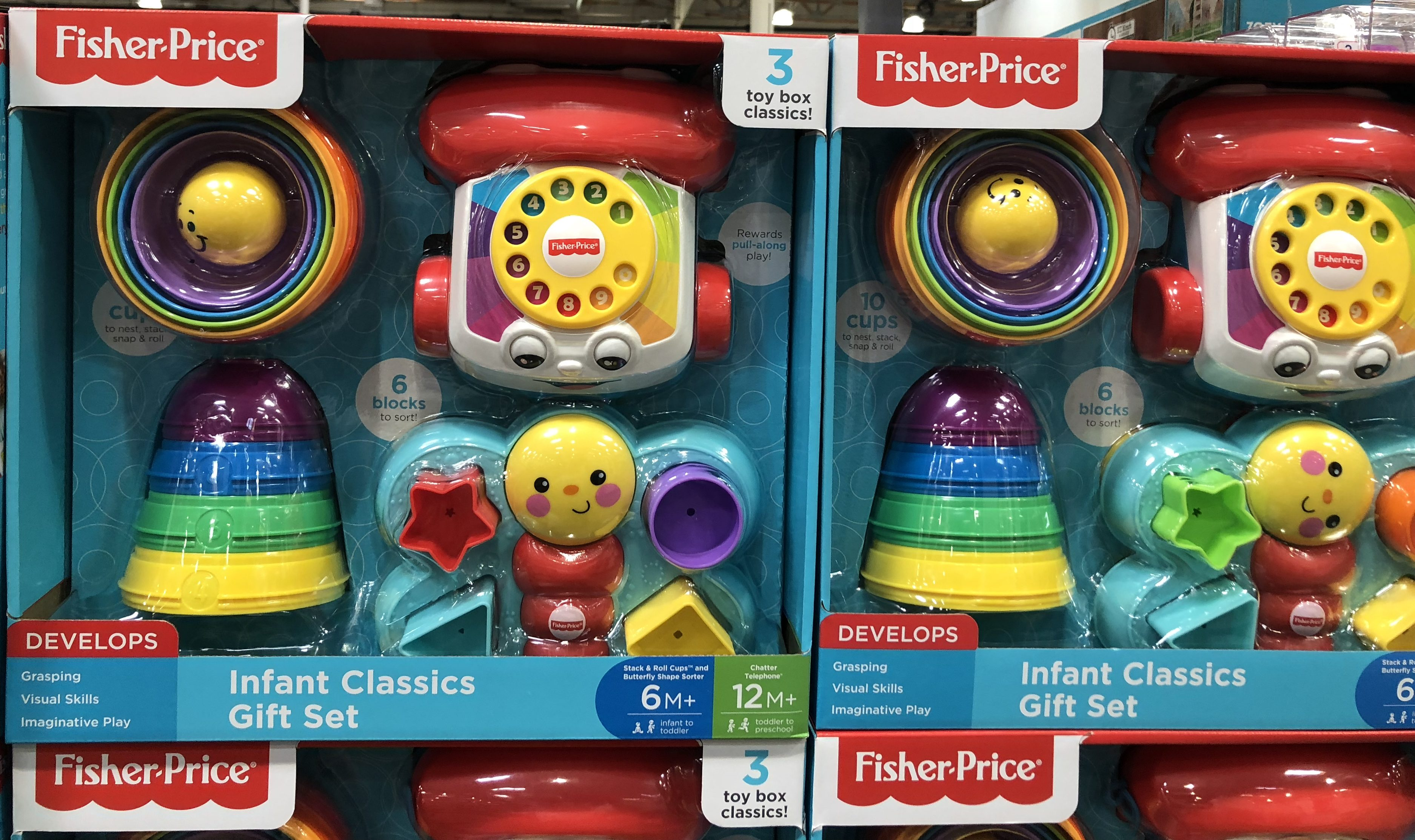 The best holiday toy deals for 2018 include the Fisher-Price Infant Gift Set at Costco