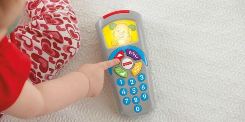 Fisher-Price Laugh & Learn Remote Only $6.99 + More