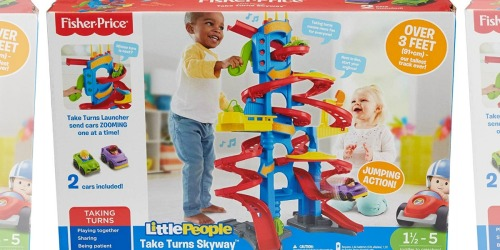 Fisher-Price Little People Take Turns Skyway Only $29.82 (Regularly $42)