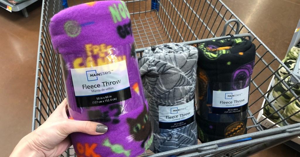 Halloween Fleece Throws Only 2 50 At Walmart Hip2save