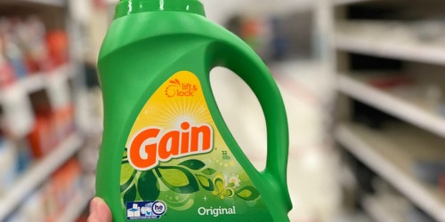 FOUR Gain Laundry Detergents Only $20 Shipped on Amazon | Just $5 Each