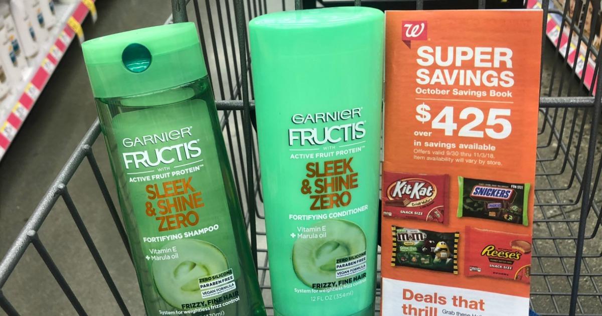 High Value 3 2 Garnier Hair Products Coupon Just 1 Each At Walgreens Hip2save
