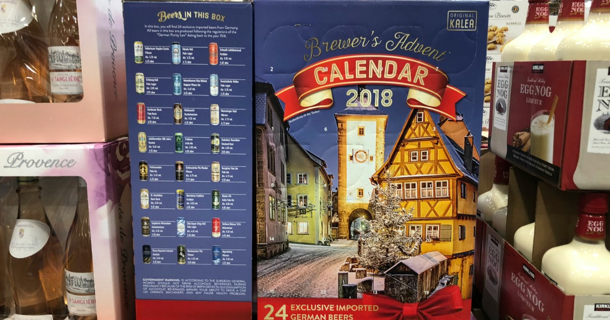 2018 german beer advent calendar only at costco. Black Bedroom Furniture Sets. Home Design Ideas