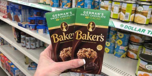 Baker's German Chocolate Bar Only $1 at Dollar Tree