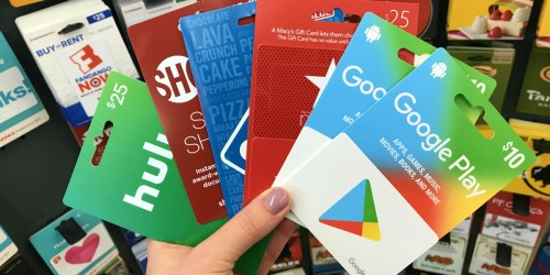 4X Kroger Fuel Points w/ ANY Gift Card Purchase | 100s to Choose From