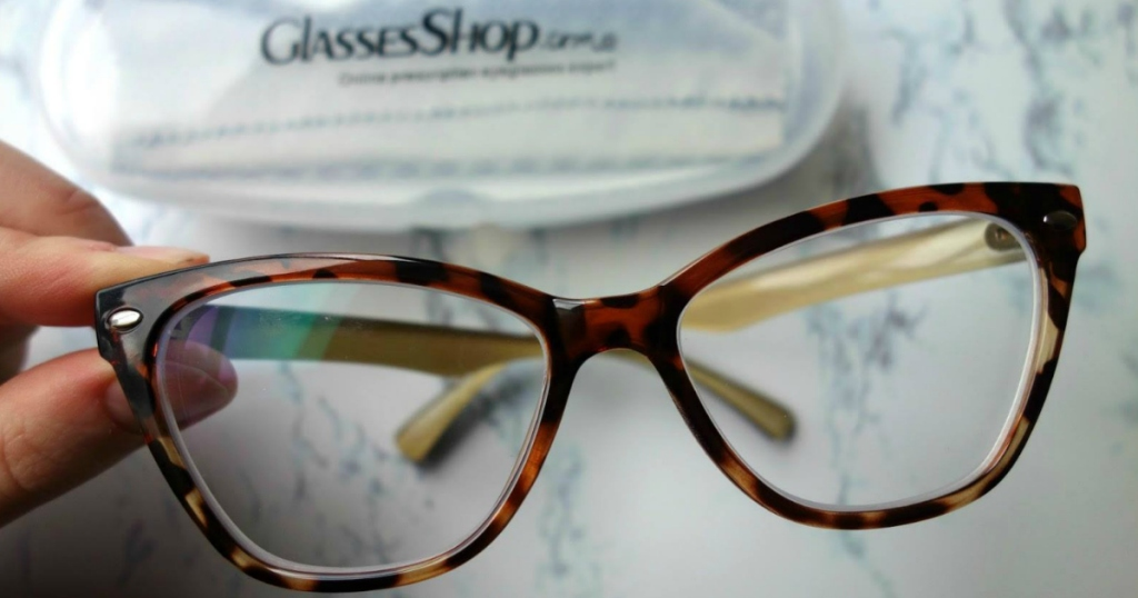 53a56356af TWO Pairs of Prescription Glasses Under  19 Shipped from GlassesShop ...