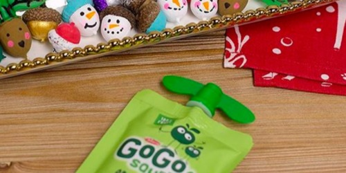 Amazon: GoGo squeeZ Applesauce Pouches 12-Pack Only $4.94 Shipped (Just 41¢ Per Pouch)