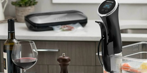 Gourmia Immersion Sous Vide Pod Just $59.99 Shipped (Regularly $140) & More