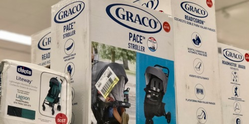 Target.com: Graco Car Seat + Jogging Stroller Travel System Only $140.79 Shipped (Reg. $280) & More
