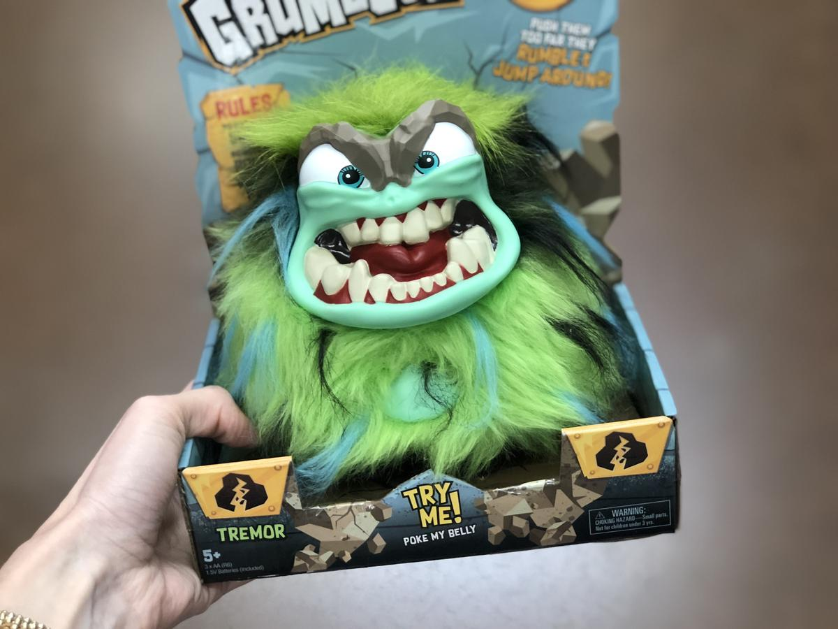 Top 2018 Christmas Toys for Amazon - Grumblies Tremor monster toy
