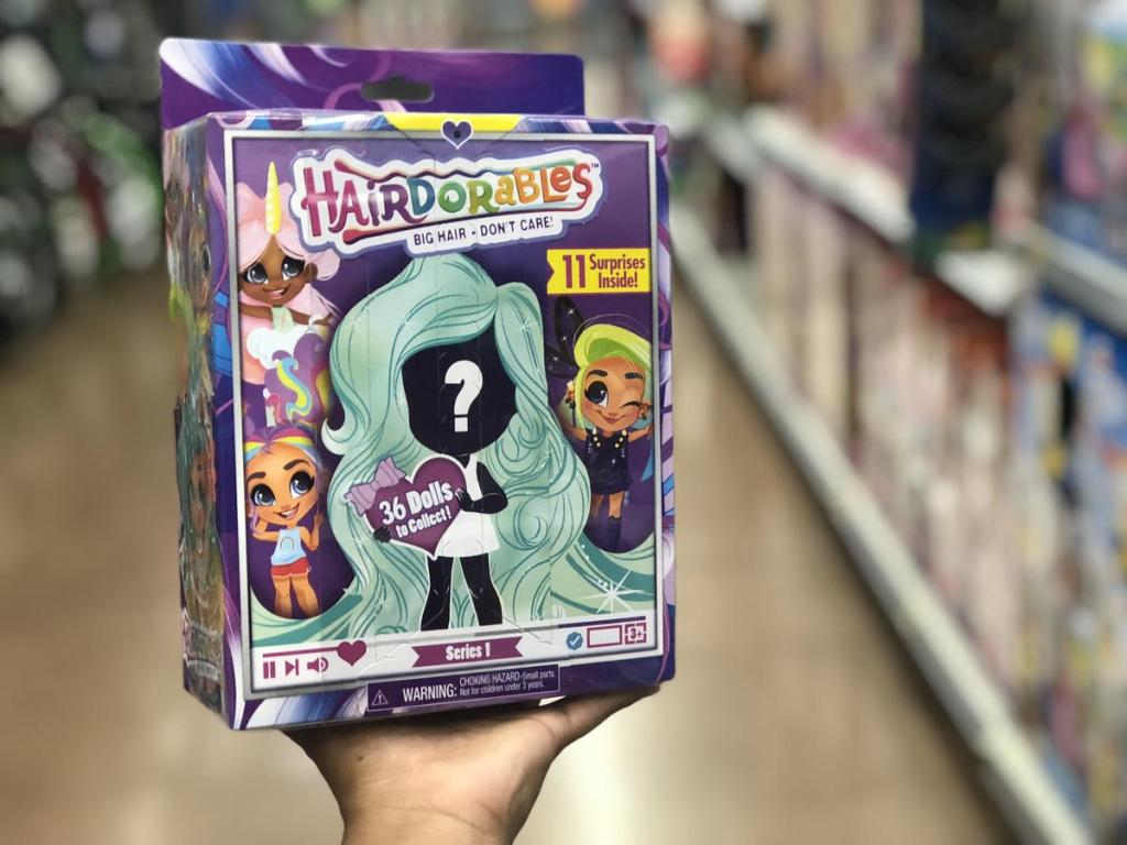 Hairdorables doll and accessories
