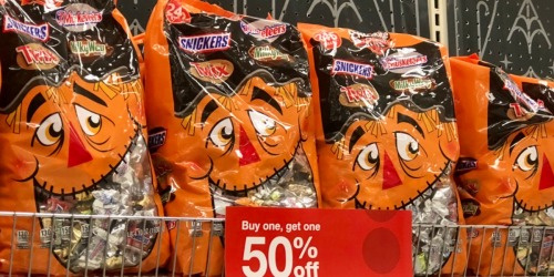 Two GIGANTIC Bags of Halloween Candy Only $23.98 at Target – Just $11.99 Each
