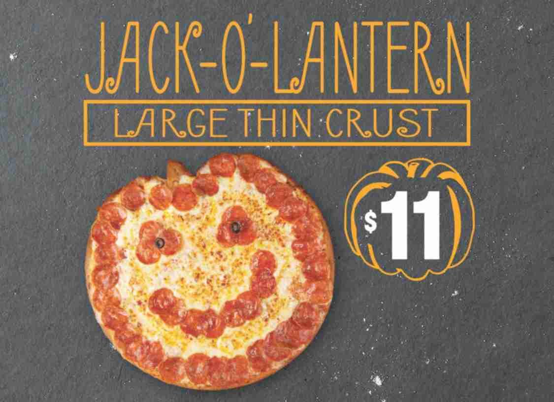 Halloween freebies and deals – Papa John's Halloween Pizza