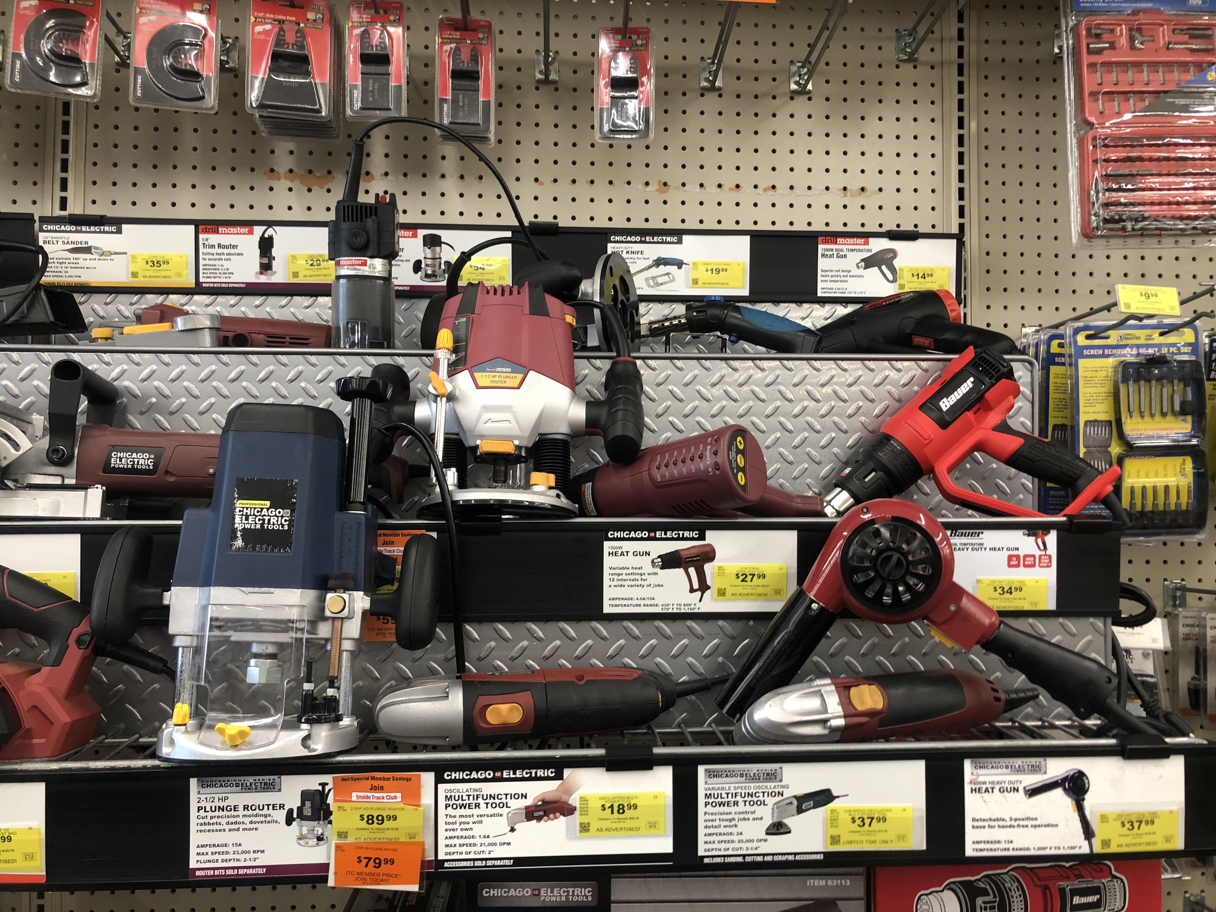 best harbor freight 2018 black friday deals – tools on display