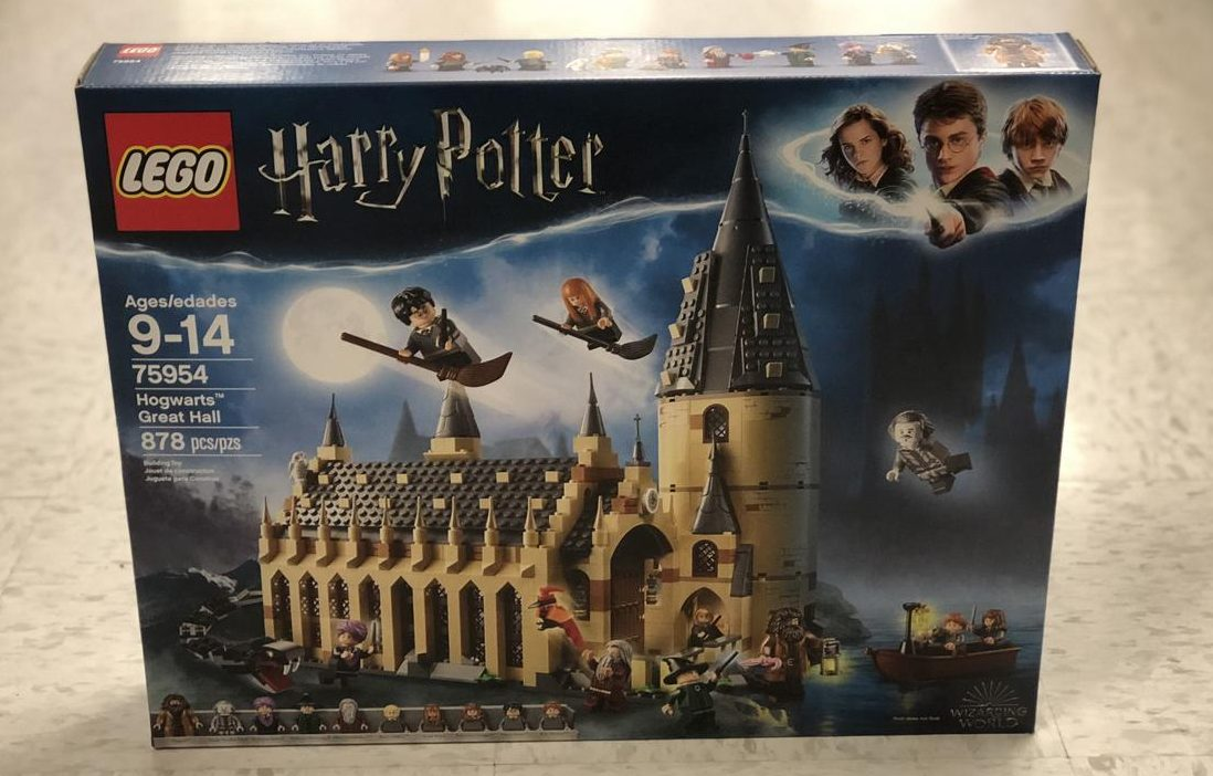 Top 2018 Christmas Toys for Amazon - Harry Potter Hogwarts LEGO set