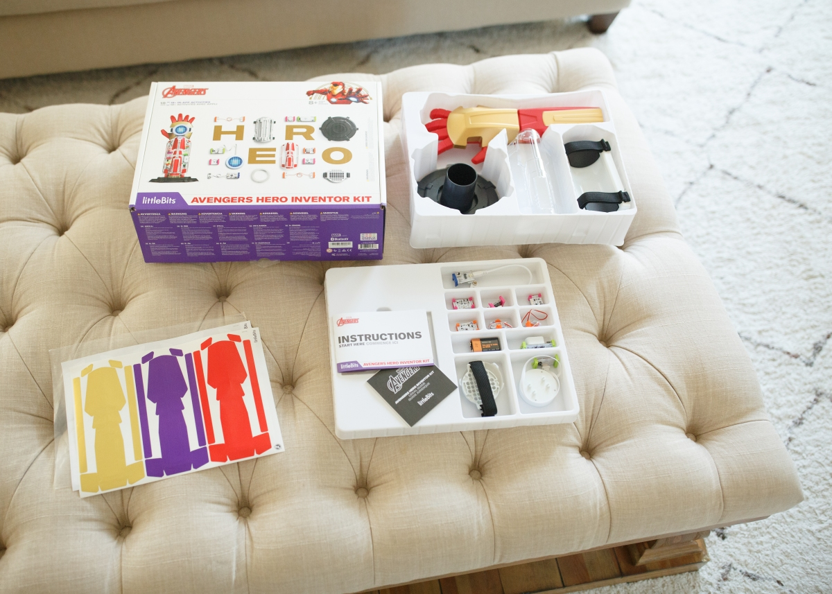 hot 2018 amazon christmas toys – littleBits avengers hero kit