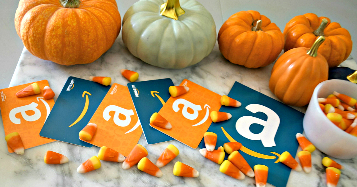 share your favorite products and you could win an Amazon gift card – pumpkins and Amazon gift cards