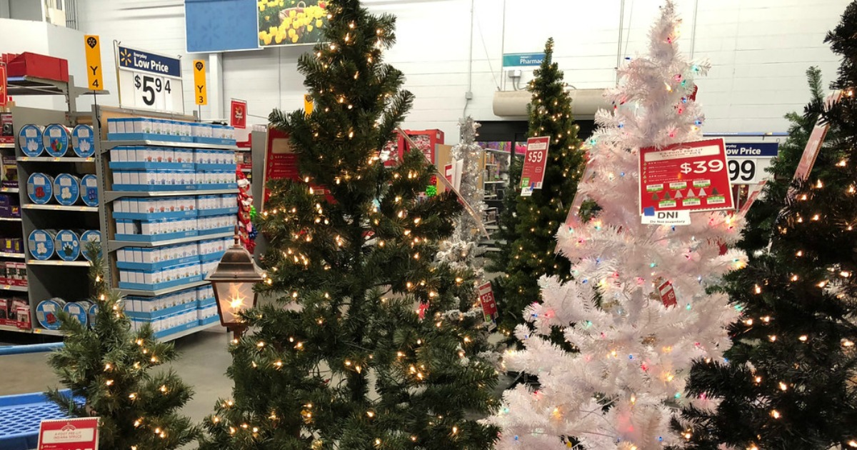 Holiday Time 6.5-ft. Pre-Lit Artificial Christmas Tree