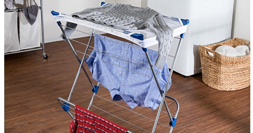 Up To 50 Off Honey Can Do Drying Racks Portable Garment Racks