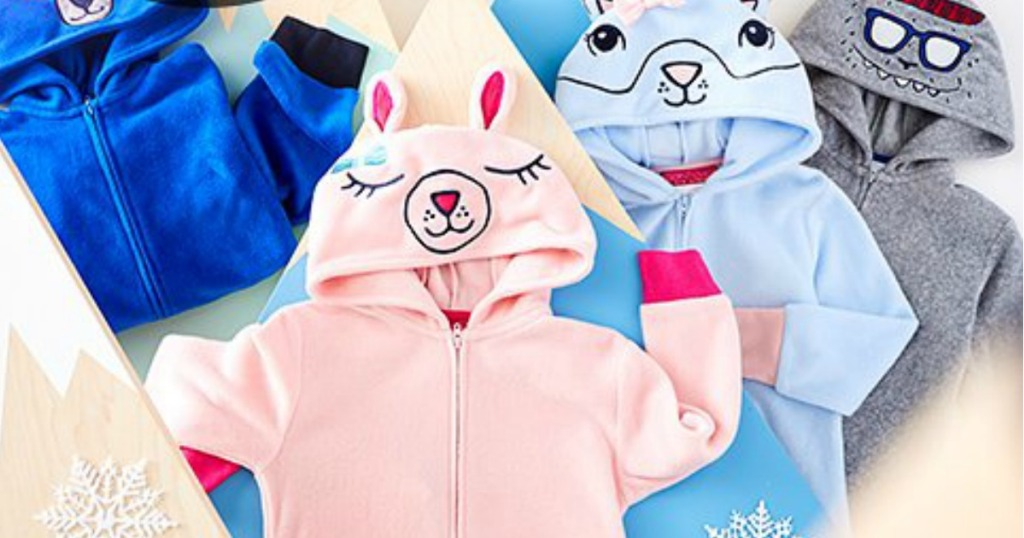 5c12a3df5 For a limited time only, hop on over to Zulily where you can score these  Hooded One-Piece Pajamas for just $10.79 (regularly $22+).