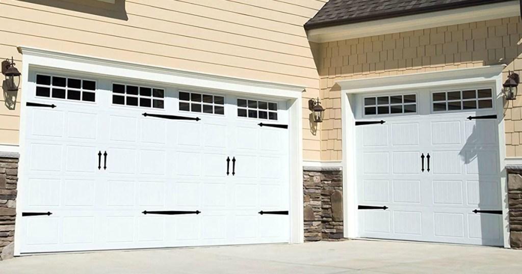 Household Essentials Hinge It Magnetic Decorative Garage Door Accents
