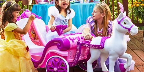 Disney Princess Royal Horse & Carriage Ride-On Toy Just $99 Shipped (Regularly $199) + More