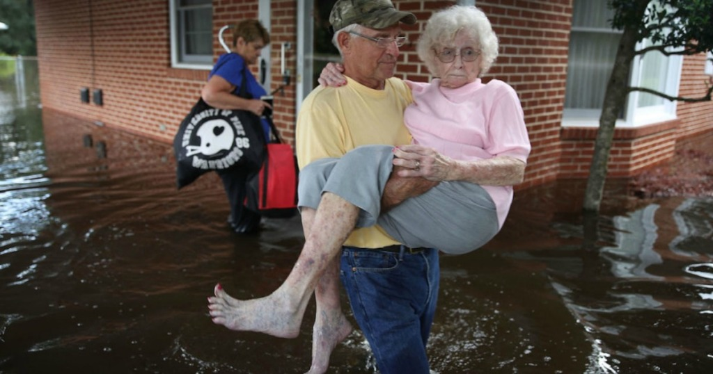Make a donation to hurricane recovery efforts.