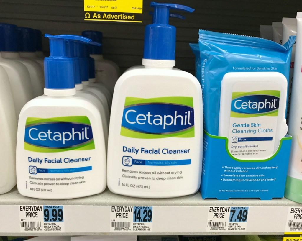Rite Aid Cetaphil Products