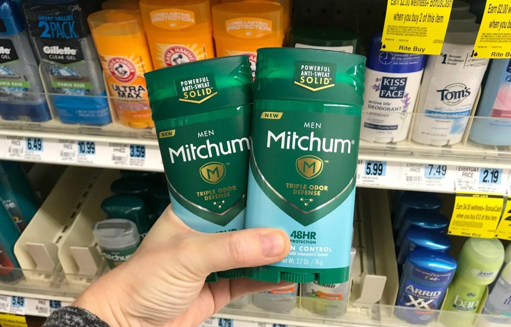 Rite Aid Mitchum Antiperspirant Deodorant