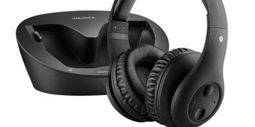 Best Buy: Insignia Wireless Headphones Just $27.99 (Regularly $90)