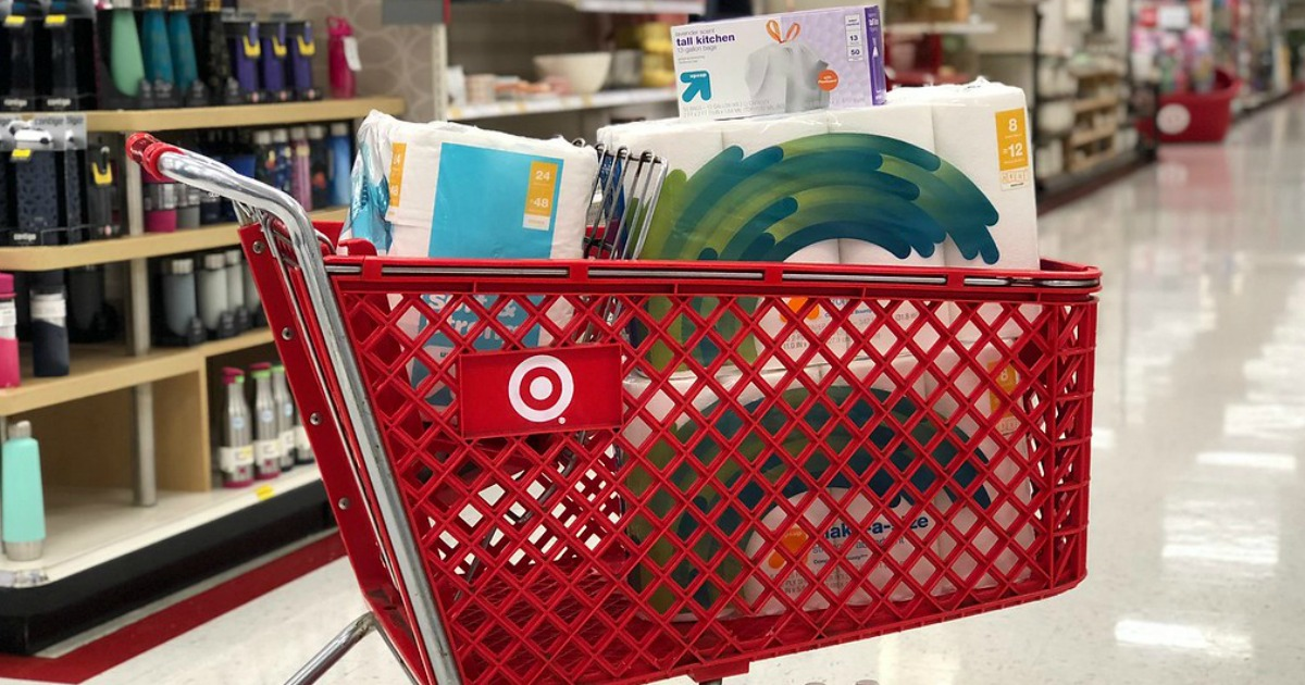 Target brand Smartly includes household and personal care products