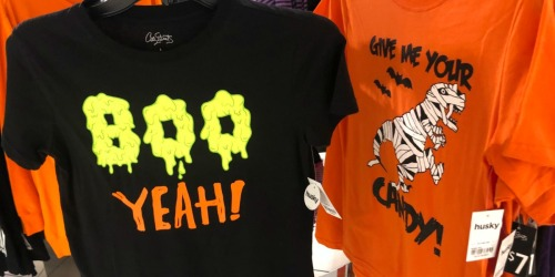 Kids Halloween Graphic Tees Only $4 at JCPenney