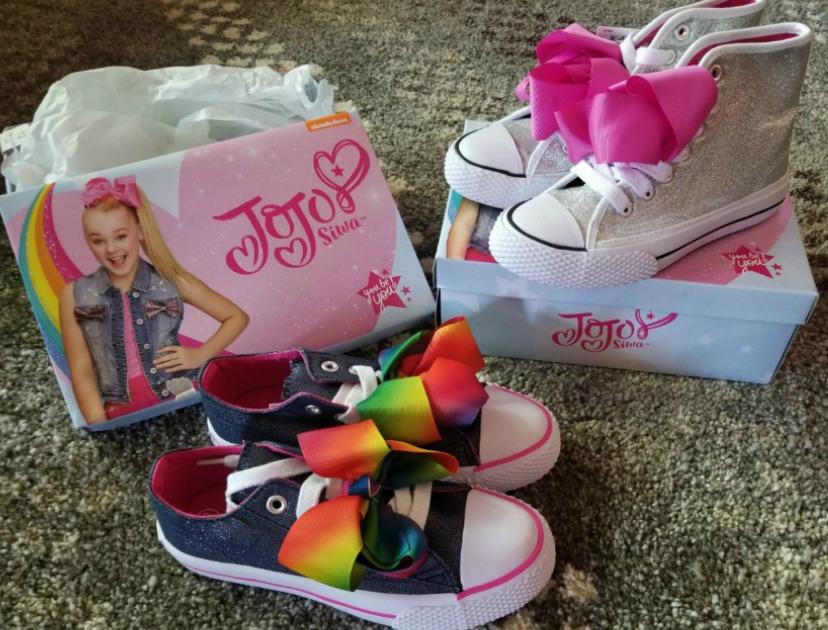how to shop for a fashionista on a budget – Jojo Siwa shoes