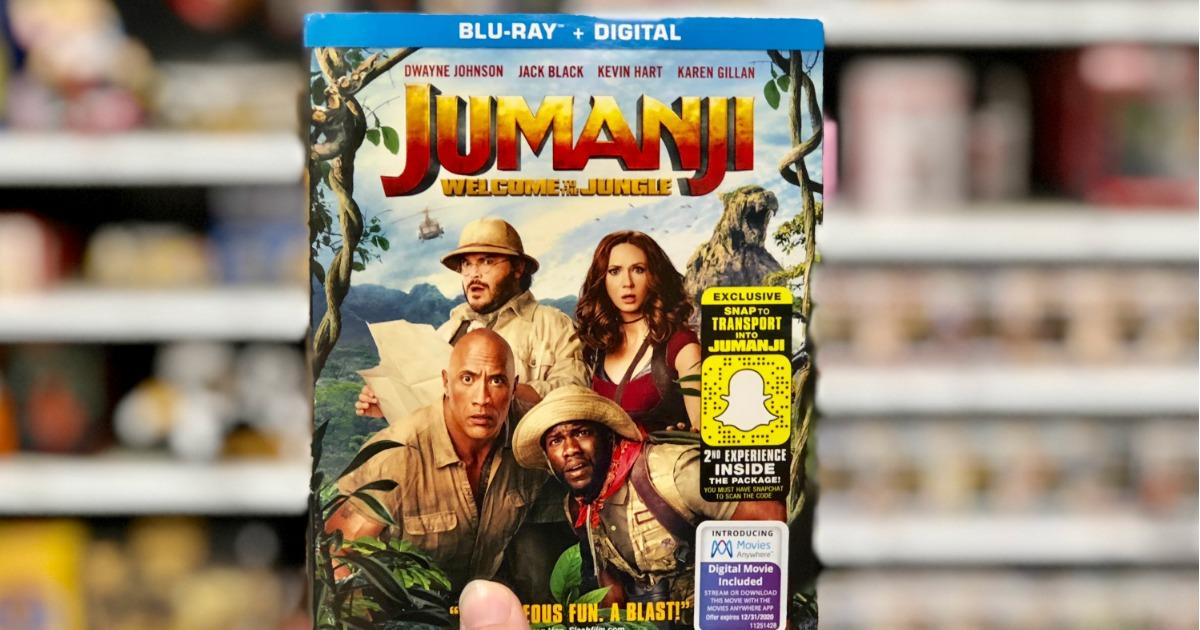 Jumanji Blu-Ray DVD