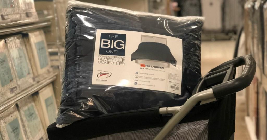 the big one down-alternative comforter in kohls cart