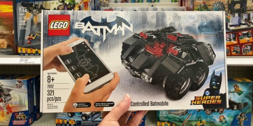 LEGO DC Comics Super Heroes App-Controlled Batmobile Only $64.99 Shipped (Regularly $100)